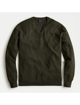 Slim Washable Merino Wool V Neck Sweater by J.Crew