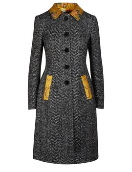 Wool Blend Coat by Dolce & Gabbana