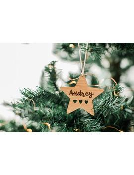 Personalised Christmas Bauble, Gift For Girlfriend, Christmas Decoration, Personalised Christmas by Etsy