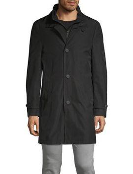 Spread Collar Coat by Calvin Klein