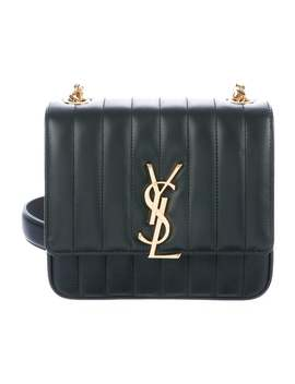 Quilted Monogram Vicky Bag by Saint Laurent