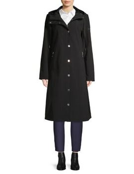 Hooded A Line Jacket by Calvin Klein