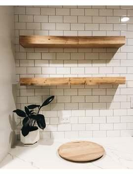Floating Shelf Floating Shelves, Farmhouse Style Floating Shelf, Nursery Shelf, Rustic Shelving, Floating Nightstand by Etsy