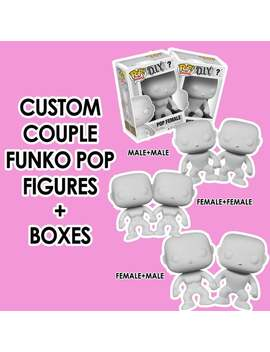 Custom Couple Funk Pop Vinyls And Boxes Anniversary Romantic Birthday Wedding Unique Gift by Etsy