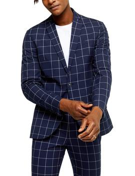 Wind Skinny Fit Suit Jacket by Topman