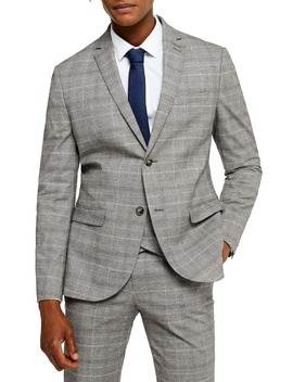 Hopper Check Slim Fit Blazer by Topman