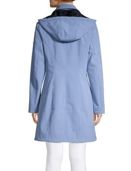 Hooded Coat by Calvin Klein