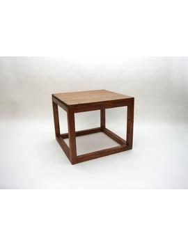 Simple Square Modern Coffee Table   Early American by Etsy