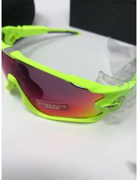 New Oakley Jawbreaker Cycling Sunglasses Retina Burn Prizm Road Lenses by Oakley