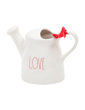 Love Ceramic Watering Can by Tj Maxx