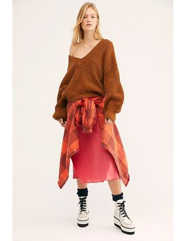 All Day Long V Sweater by Free People