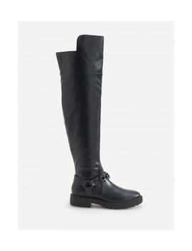 Thick Sole Over The Knee Boots by Reserved