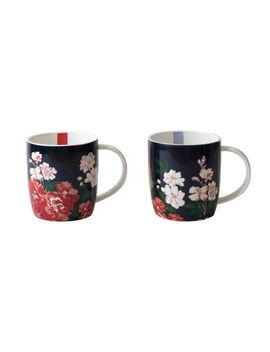 Joules Camelia Mug Set by Joules