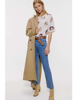 Girl Print Shirt by Zara