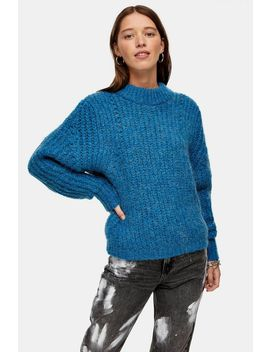 Chunky Jumper With Wool by Topshop