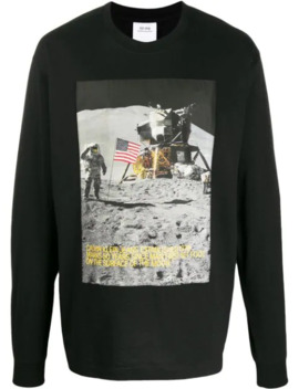 Man On The Moon Sweatshirt by Calvin Klein Jeans Est. 1978