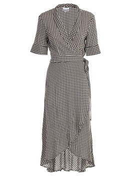 Ganni Dress L/S Check by Ganni