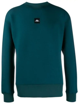 Ribbed Crew Neck Sweatshirt by Kappa