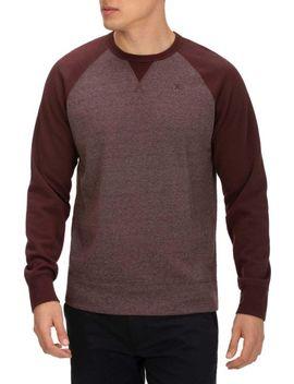 Hurley Men's Crone Textured Crew Sweatshirt by Hurley