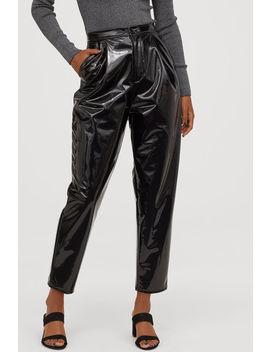 Pantaloni Lăcuiți by H&M