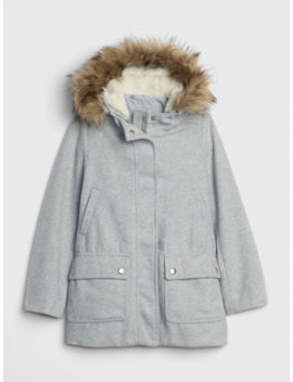 Kids Wool Blend Coat by Gap