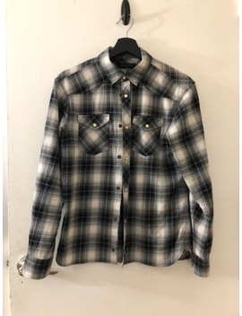 Black/White Western Flannel by Allsaints  ×