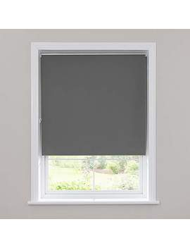 Slate Blackout Roller Blind by Dunelm