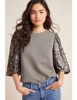 Eryna Lace Sleeved Top by Amadi