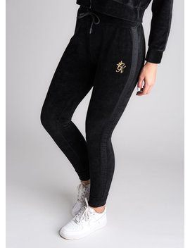 Gk Parco Tracksuit Bottoms   Black by The Gym King