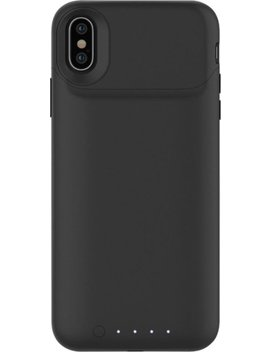 Juice Pack Air External Battery Case With Wireless Charging For Apple® I Phone® X   Black by Mophie