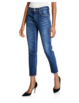 Cameron Dark Wash Skinny Jeans by Moussy Vintage