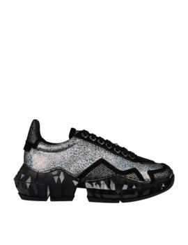 Diamond Low Top Sneakers by Jimmy Choo