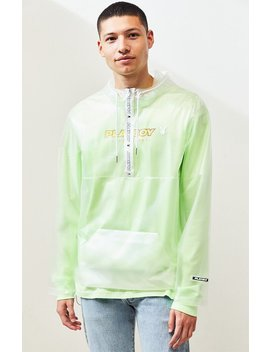 Pac Sun X Playboy Clear Anorak by Pacsun