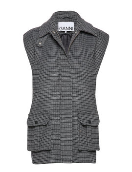 Check Wool by Ganni