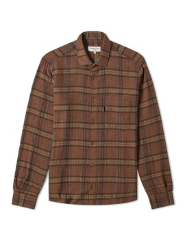 Ymc Curtis Wool Check Pocket Shirt by Ymc