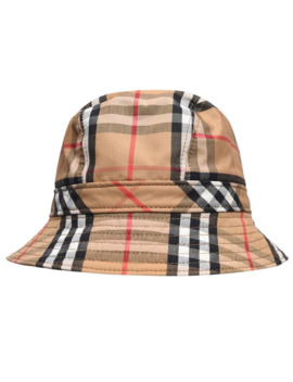Check Bucket Hat by Burberry