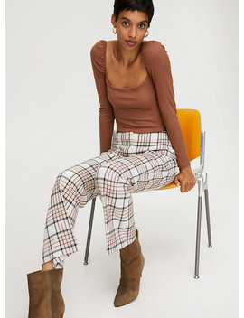 Genie Check Pant by Wilfred