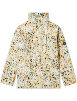 Napa By Martine Rose Leopard Print Parka by Napa By Martine Rose