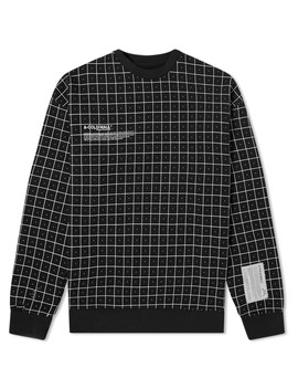 A Cold Wall* Grid Print Crew Sweat by A Cold Wall*