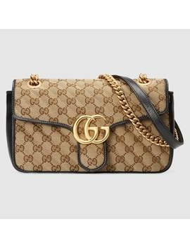 Online Exclusive Preview Gg Marmont Small Shoulder Bag by Gucci