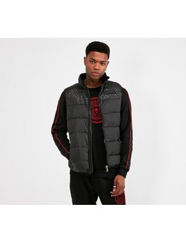 Bonola Puffer Gilet | Black by Glorious Gangsta