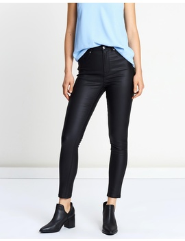Valerie Coated Skinny Jeans by Atmos&Here