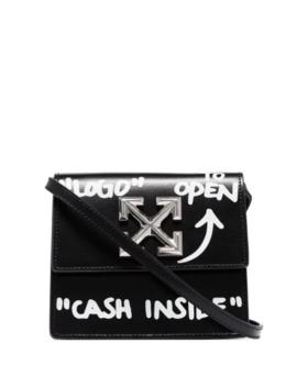 Jitney 0.7 Cash Inside Crossbody Bag by Off White