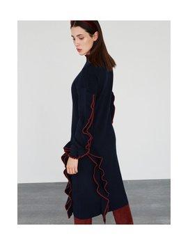 Sukienka Z Dekoracyjnymi Falbanami by Reserved