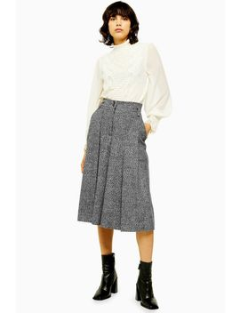 Idol Salt And Pepper Culottes by Topshop
