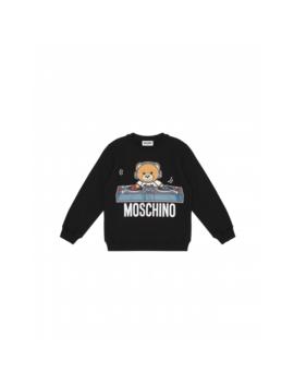 Sweatshirt With Deejay Teddy Bear by Moschino