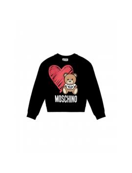 Sweatshirt With Heart And Moschino Teddy Bear by Moschino