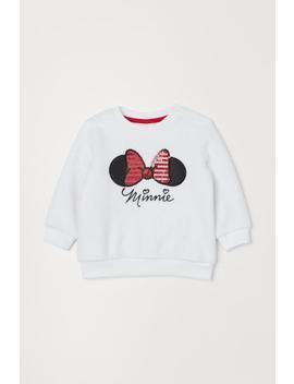 Teddy Sweater Met Pailletten by H&M