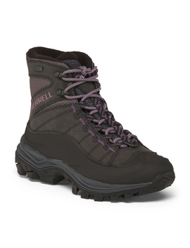 Leather Waterproof And Insulated Boots by Tj Maxx