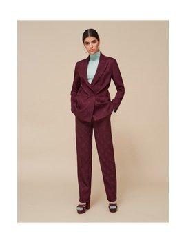 Spodnie Z żakardowym Wzorem by Reserved